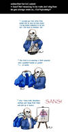 Undertale ask blog: how is sans chubby by neonUFO