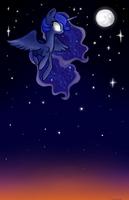 Lunar descent by JBRID
