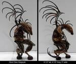 Devil Claw Gargoyle by ART-fromthe-HEART