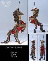 Devil Claw Unicorn 2 by ART-fromthe-HEART