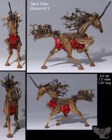 Devil Claw Unicorn 3 by ART-fromthe-HEART