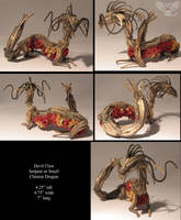 DevilClaw Small Chinese Dragon by ART-fromthe-HEART