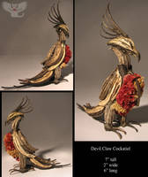 Devil Claw Cockatiel by ART-fromthe-HEART