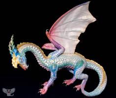 Opalus, Gourd Opal Dragon by ART-fromthe-HEART
