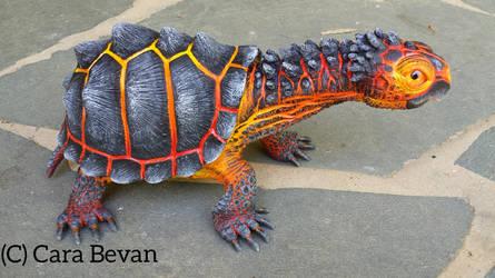 Magnus the magma tortoise by ART-fromthe-HEART