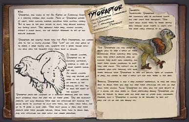 Tytoraptor clamorlarua - Ark Fan Dossier by Zemeraire
