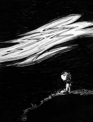 Inktober #27 - Thunder by gnuttormen