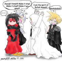 Sephiroth Gets Scared by generaltifa