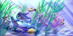 Fizz: Under the Sea by witchuru