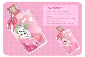 Love Potion YCH : OPEN by witchuru