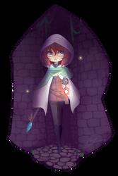 Vagante : Lost Wizard by witchuru