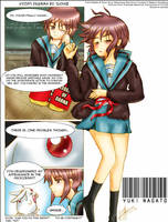 Kyon's Dilemma by suoh12