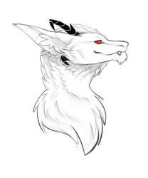 Wren Headshot Sketch by shujuju