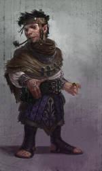 Gehko Bindus: Rogue by IzzyMedrano