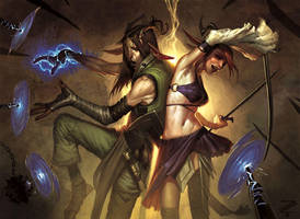 MtG: Safehold Duo by IzzyMedrano