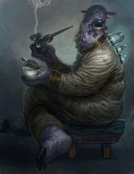 Von Borkus the Spice Trader by IzzyMedrano