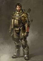Sniper 2038 by IzzyMedrano