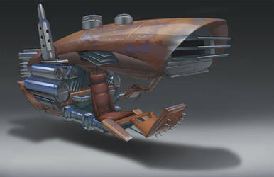 SciFi-Western Project- Bandito by IzzyMedrano