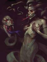 Medusa Concept by IzzyMedrano