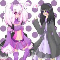 :contest: Emiko and Yuki by Cake4444