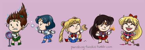 Sailor Moon Magnets by perishing-twinkie