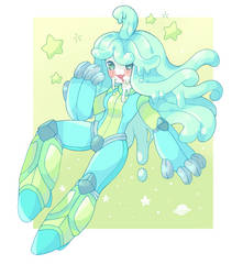 [monster girl challenge] DAY 3 - slime by barafrog