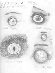 Eyes by spritephantom