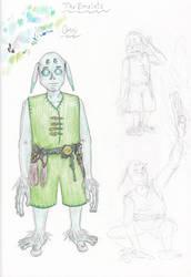 Omni revised character design by spritephantom