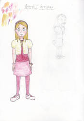 Amaryllis character design by spritephantom