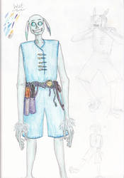 Wist - Revised Character Design by spritephantom