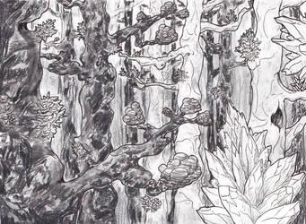 Jewel Forest by spritephantom
