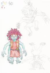 Guts - Revised Design by spritephantom