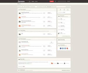 Zaroon retina phpBB3 Index by aldink