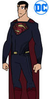 DC - BvS Dawn of Justice Superman by HewyToonmore