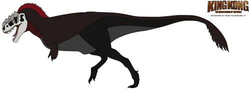 KK:TEWOTW - Skull Island Tyrannosaurus rex by HewyToonmore