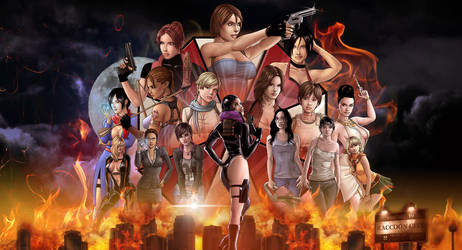 Ladies Of Evil Wallpaper by Jaja316