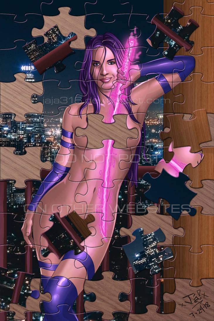 The Psylocke Puzzle by Jaja316