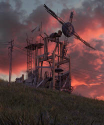 Windmill by Vioxtar