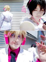 DRRR - Evil pink kiss by Hikari-Kanda