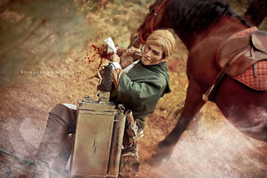 Erwin Smith - No pain by Hikari-Kanda