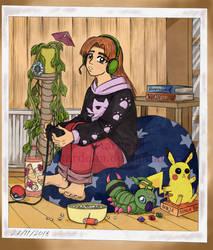 Otaku Girl Essi by tardelia