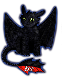 Toothless by tardelia