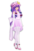 Pink Dress Patchouli by PachiPachy