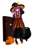 Halloween Patchouli by PachiPachy