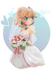 Bride Peach by RxViolette