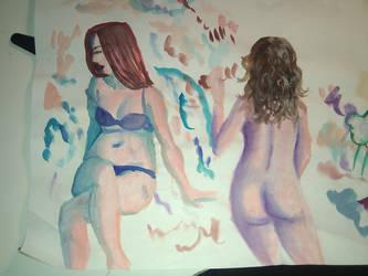Watercolours by Niphredill