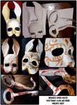Splicer Mask and Hook Progress by berrynerdy