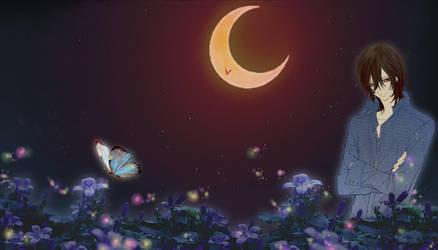 Kaname Kuran Night Time Flower by valkyrie9waves