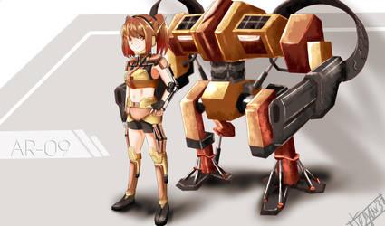 AR-09 by tegarsetyawan32