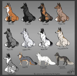 Fox av color chart by Krissyfawx